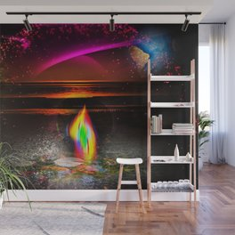 Our world is a magic - Sunset Wall Mural