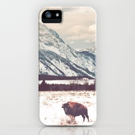 Bison & Tetons iPhone Case