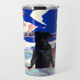 Melt pug Travel Mug