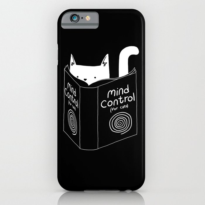 mind control 4 cats iphone case