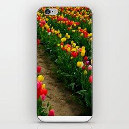 Tulip Fields iPhone Skin