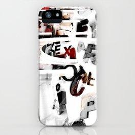 LETRAS - BONS ARES 2 iPhone Case