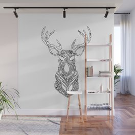 Christmas Reindeer Decorative Art Wall Mural