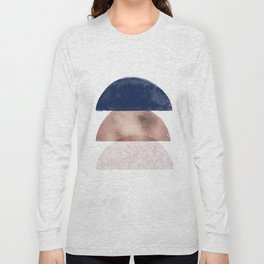 Semicircle geometric I Long Sleeve T-shirt