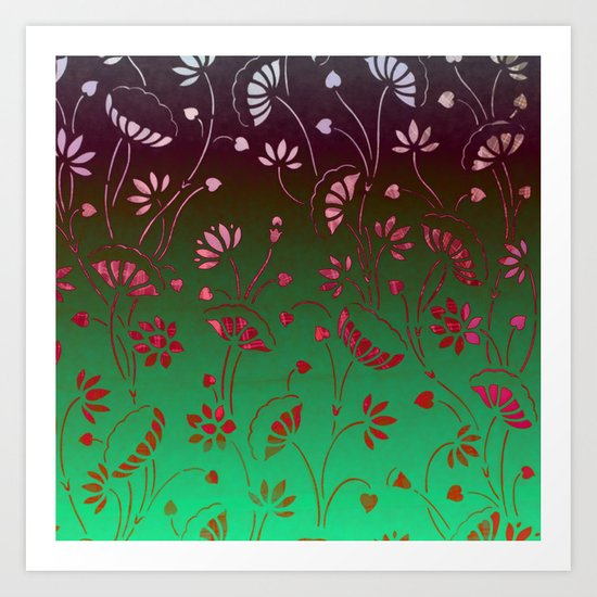 Lilypond-2 Art Print