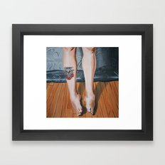 Legs. Framed Art Print