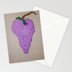Killer Grapes  Stationery Cards