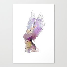 Rabbit from the Ashes Canvas Print