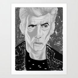 galactic rock star Art Print