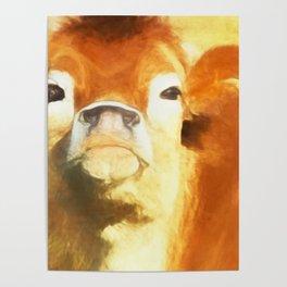 A Moo Attitude Poster