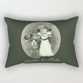 Lola and Gertie Rectangular Pillow