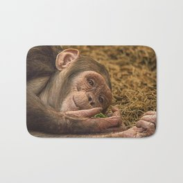 Breakfast in Bed Bath Mat