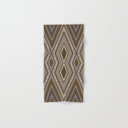Geometric Rustic Glamour Hand & Bath Towel