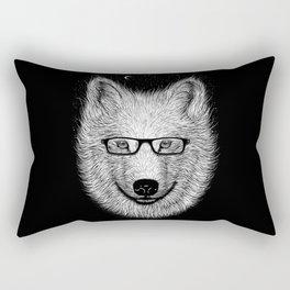 WHITE SPECTACLE Rectangular Pillow