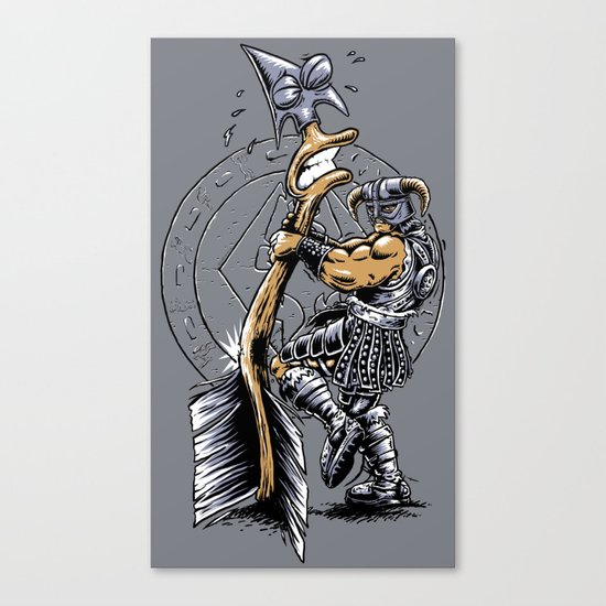 Take a knee to the Arrow ... Canvas Print