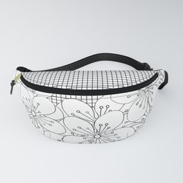 Cherry Blossom Grid - In Memory of Mackenzie Fanny Pack