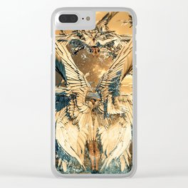 Sighting of Seraphims Clear iPhone Case