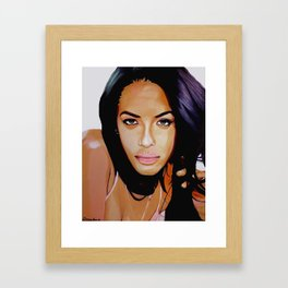 Aaliyah Dana Haughton Framed Art Print