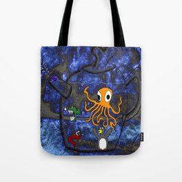 Kettle of Fish (No Text) Tote Bag