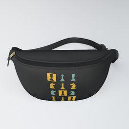 Vintage Retro Chess Perfect Gift For Chess Players Fanny Pack
