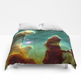 Eagle Nebula Pillars Comforters