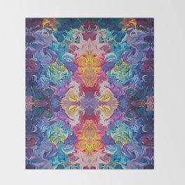 Aurora Swirls Throw Blanket