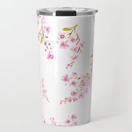 Cherry Blossoms floral Travel Mug