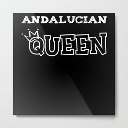 Andalucian Queen Metal Print