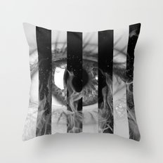 I See Fire - Digital Collage piece Throw Pillow