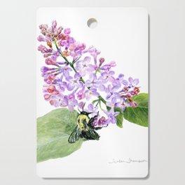 Lilac Love by Teresa Thompson Cutting Board