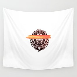 King of the jungle Wall Tapestry