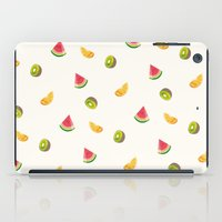 fruits iPad Cases featuring Fruits by Carolin Vogt