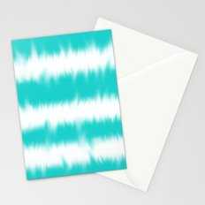Turquoise Tie Dye Stationery Cards