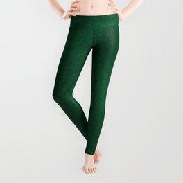 Color gradient and texture 62 dark green Leggings