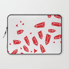 Red Crystals Laptop Sleeve