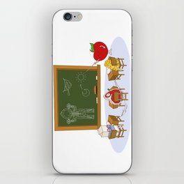 Human learning iPhone Skin