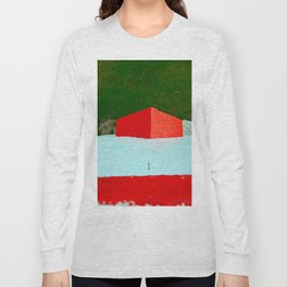 View from Lighthouse Window Long Sleeve T-shirt