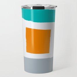 Weathered Beach Bungalows Travel Mug