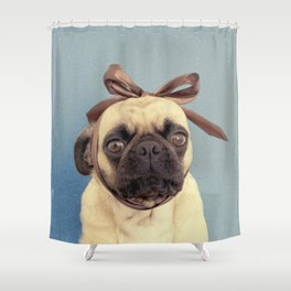 Lola Bow Shower Curtain