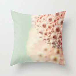 sea urchin series no 3 Throw Pillow