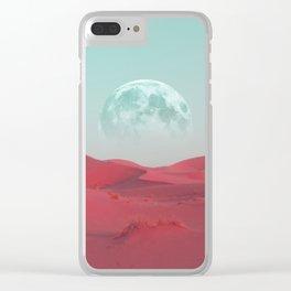 Pink Sahara Clear iPhone Case