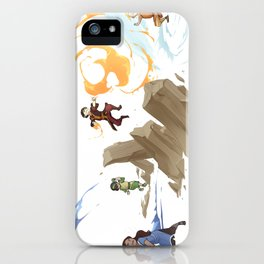 The Four Elements iPhone Case