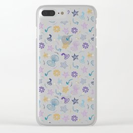 Sea life2 Clear iPhone Case