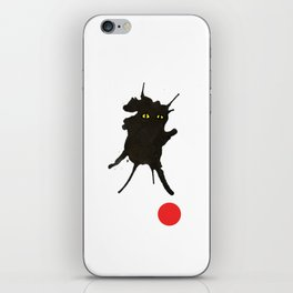 cat with ball #2 iPhone Skin