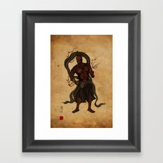 Darth Um Framed Art Print