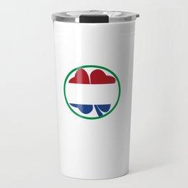 Irish Today Dutch Tomorrow St Patrick's Day print Travel Mug