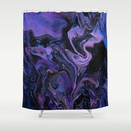 Hazy Cosmic Jive Shower Curtain