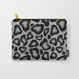 Snow Leopard Animal Print Carry-All Pouch