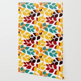Leaves patten Wallpaper