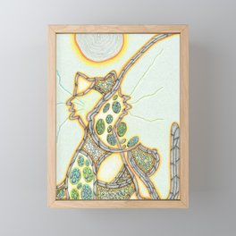 gatto Framed Mini Art Print